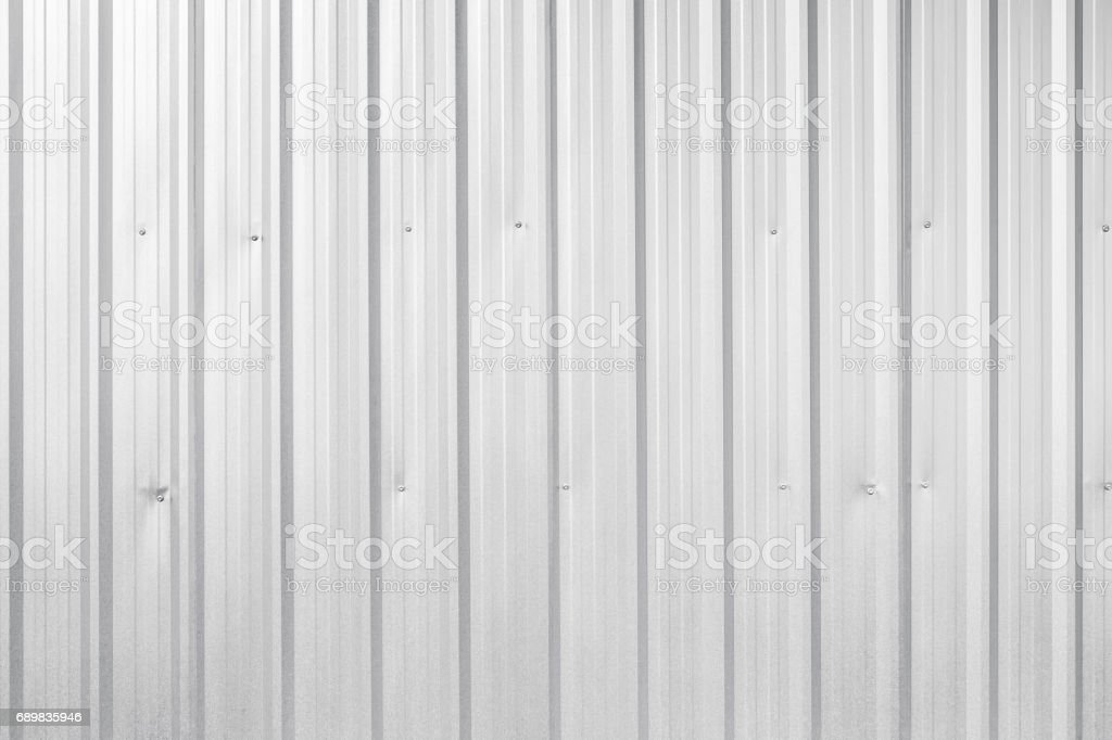 corrugated metal background and texture surface stock photo