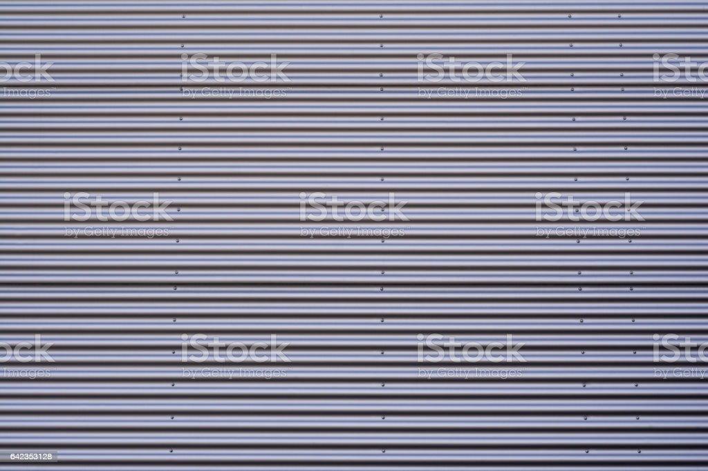 corrugated metal background stock photo