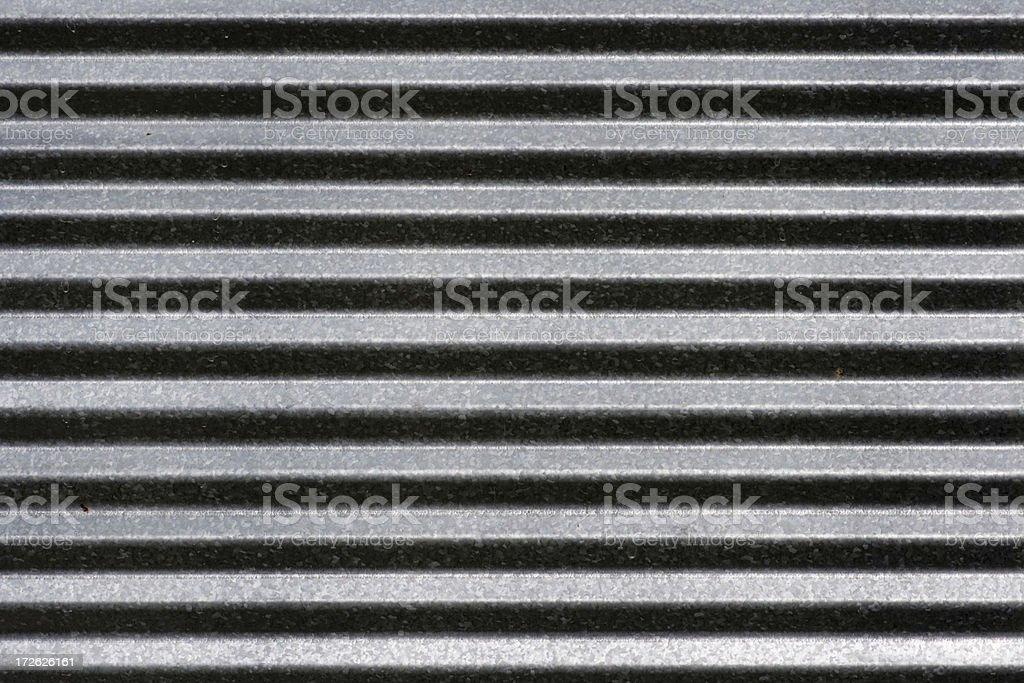 Corrugated Metal Hz royalty-free stock photo