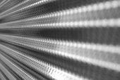 B&W Corrugated Metal Mesh