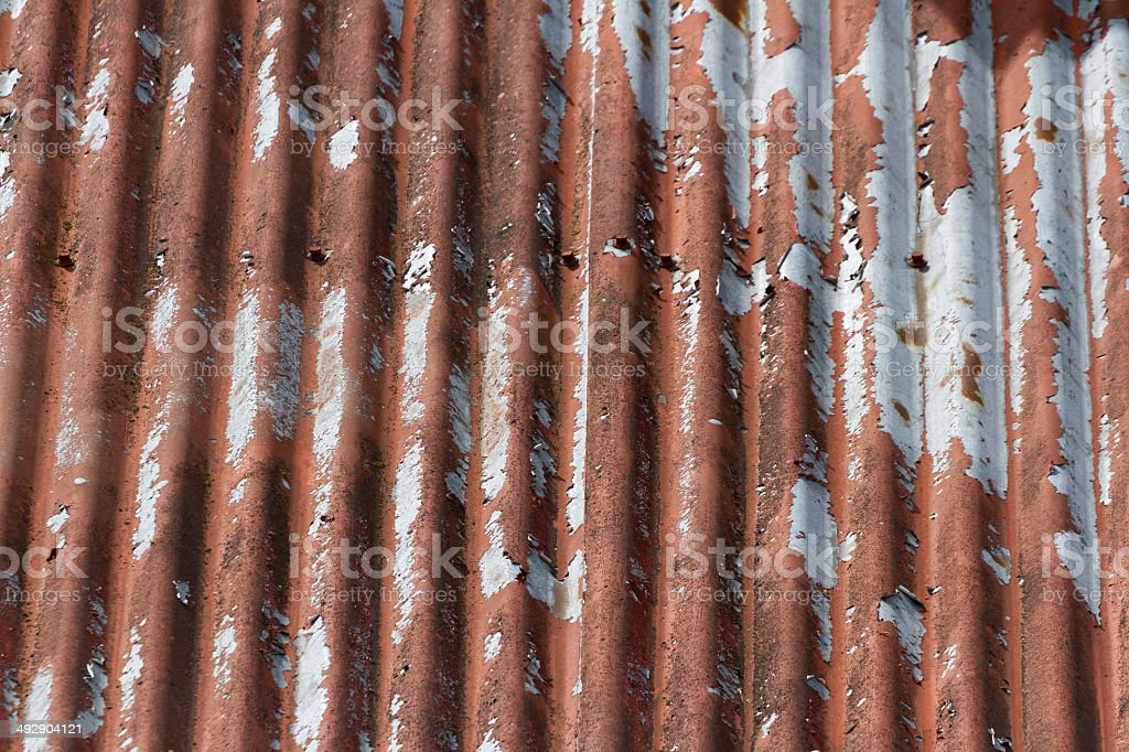 Corrugated Metal stock photo