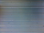 Corrugated metal sheet as a background