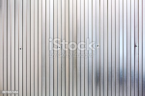 istock corrugated metal surface, galvanized steel background 601937484