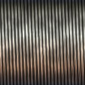 corrugated metal texture generated. Seamless pattern.