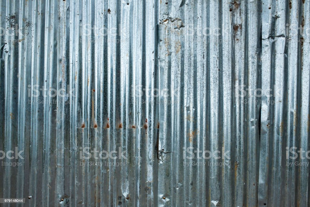 Corrugated Metal Texture Or Galvanized Iron Steel Background Stock Photo Download Image Now Istock