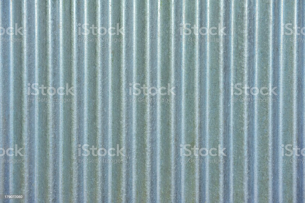 Corrugated metal texture surface stock photo