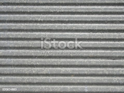 istock Corrugated metal texture surface 520624883