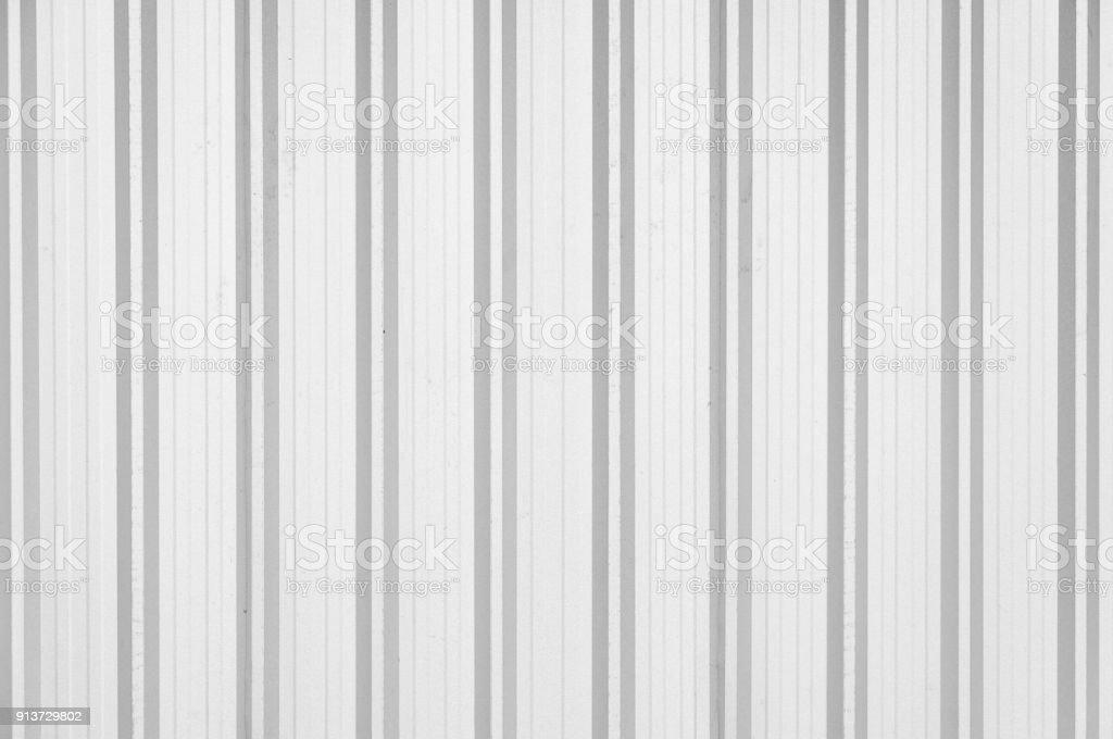 Gewellte Metall Texturoberflache Verzinktem Stahlblech Als Wand Zaun