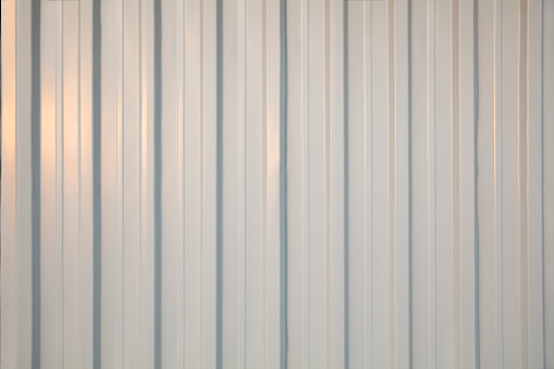 Corrugated metal texture wall background