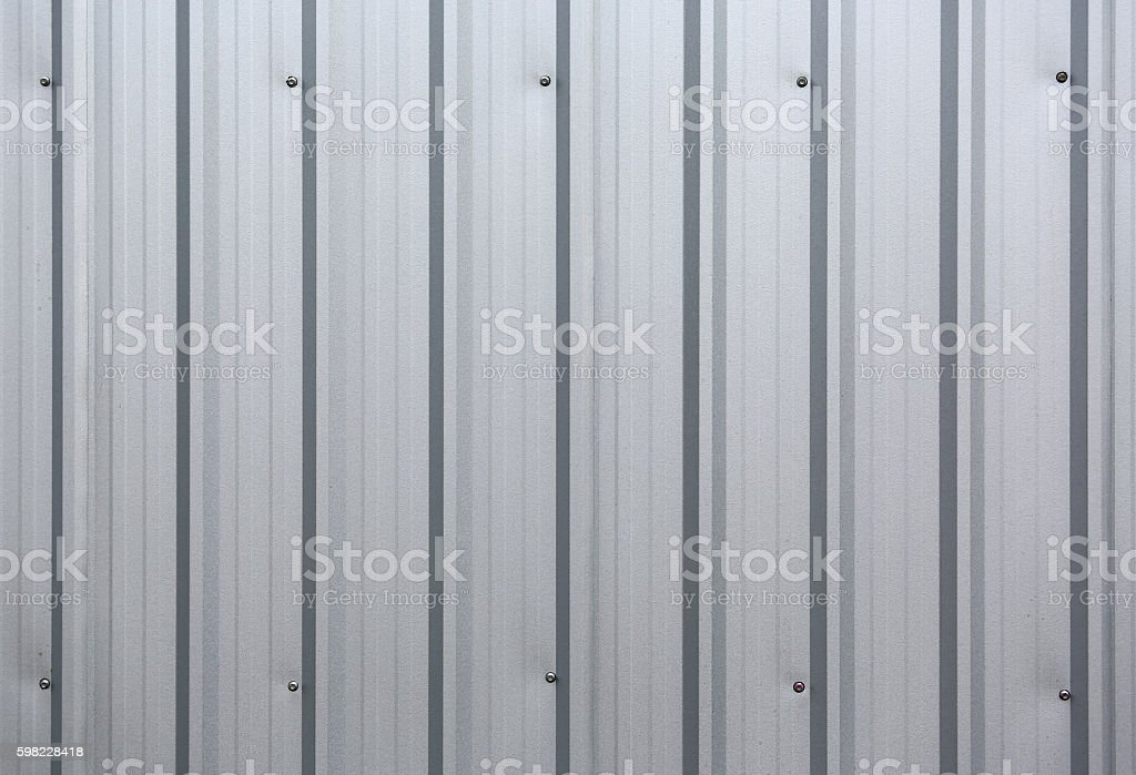 corrugated metal wall texture background foto royalty-free