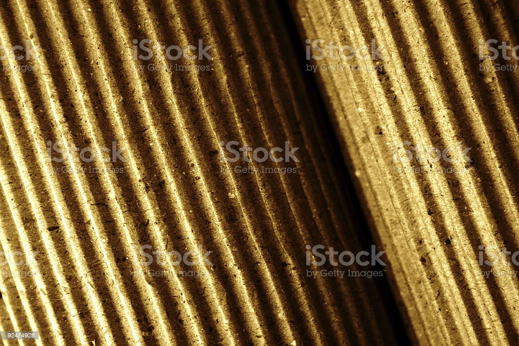 Corrugated paper II royalty-free stock photo