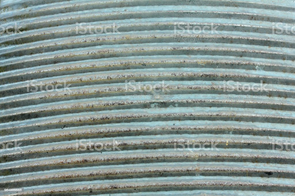 波紋鏽鍍鋅板 - 免版稅不完美圖庫照片