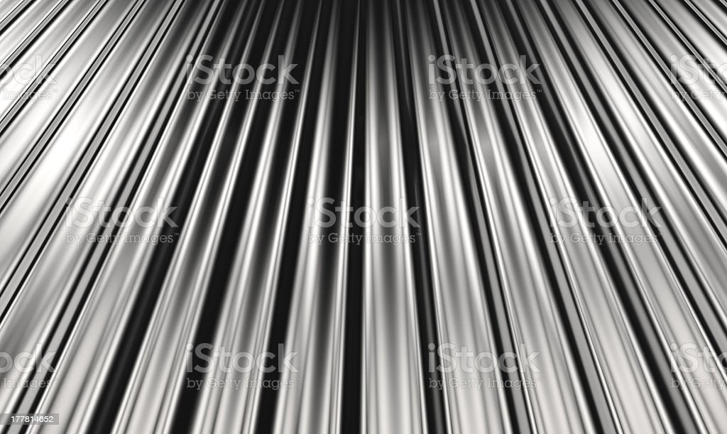 Corrugated sheet background royalty-free stock photo