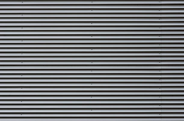 Royalty free corrugated aluminum pictures images and - Chapa metalica ondulada ...