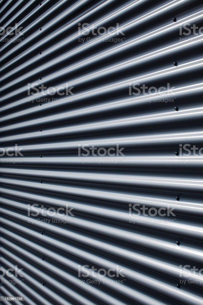 corrugated structure stock photo