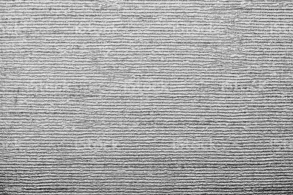 corrugated texture of gray color with stamping stock photo