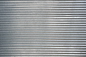 Corrugated zinc texture background