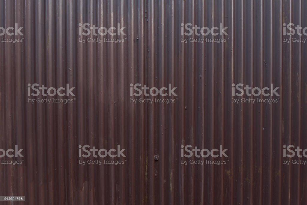 Wellpappe Zink Textur Hintergrund – Foto