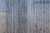 corrugated zync plated sheet metal large surface background