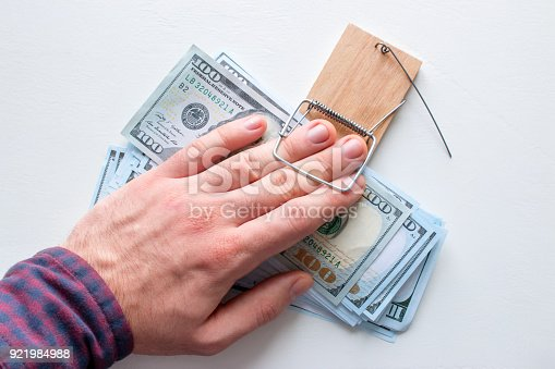 848170878istockphoto corrupt official took a bribe, and fell into a trap 921984988