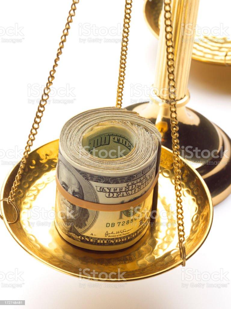 Corruption royalty-free stock photo