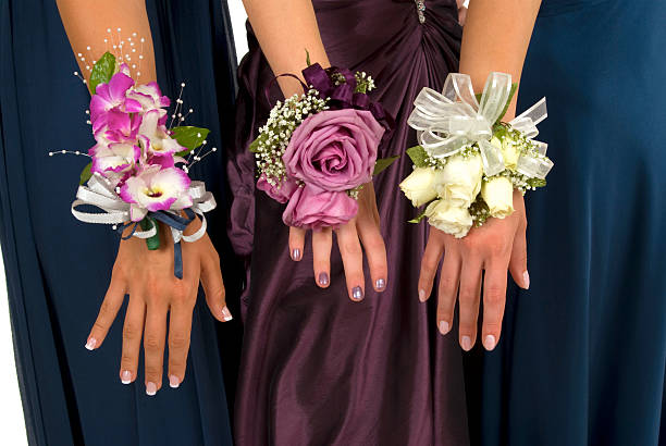 corsages - prom stock photos and pictures