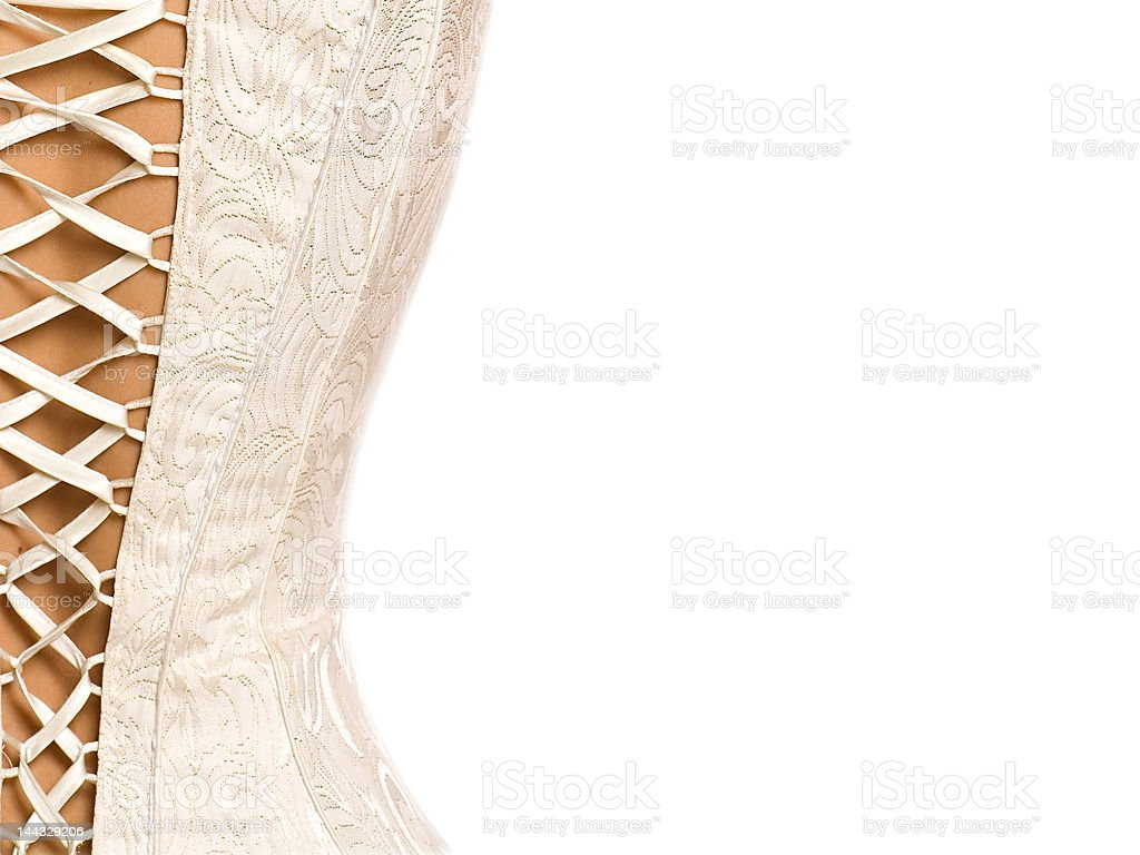 Corset background stock photo