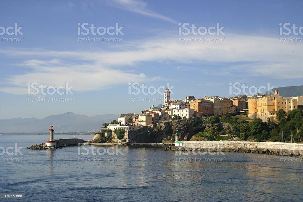 Corsica Bastia stock photo