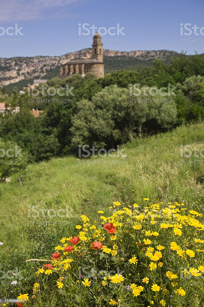 Corsica Landscape royalty-free stock photo