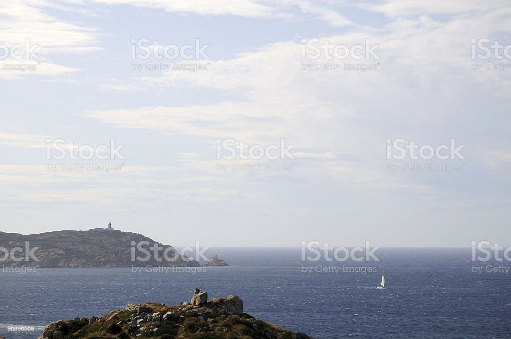 Corsica royalty-free stock photo
