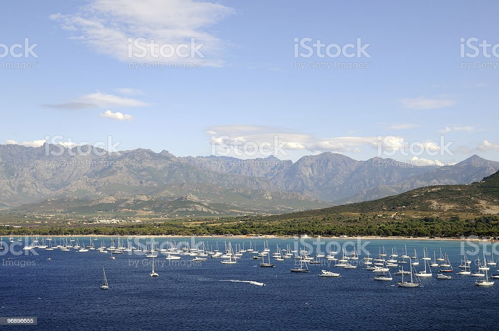 Corsica royalty-free stock photo
