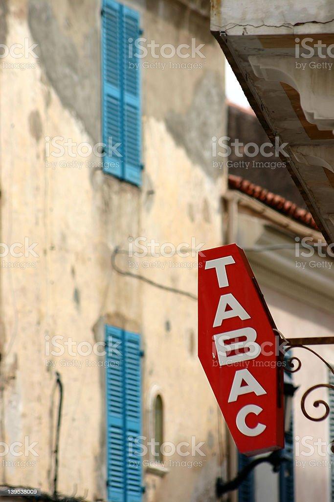corsica sceneries royalty-free stock photo