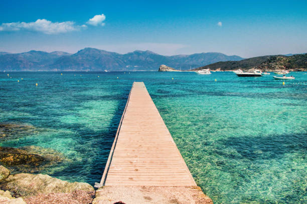 Corsica - The Isle of Beauty, France stock photo