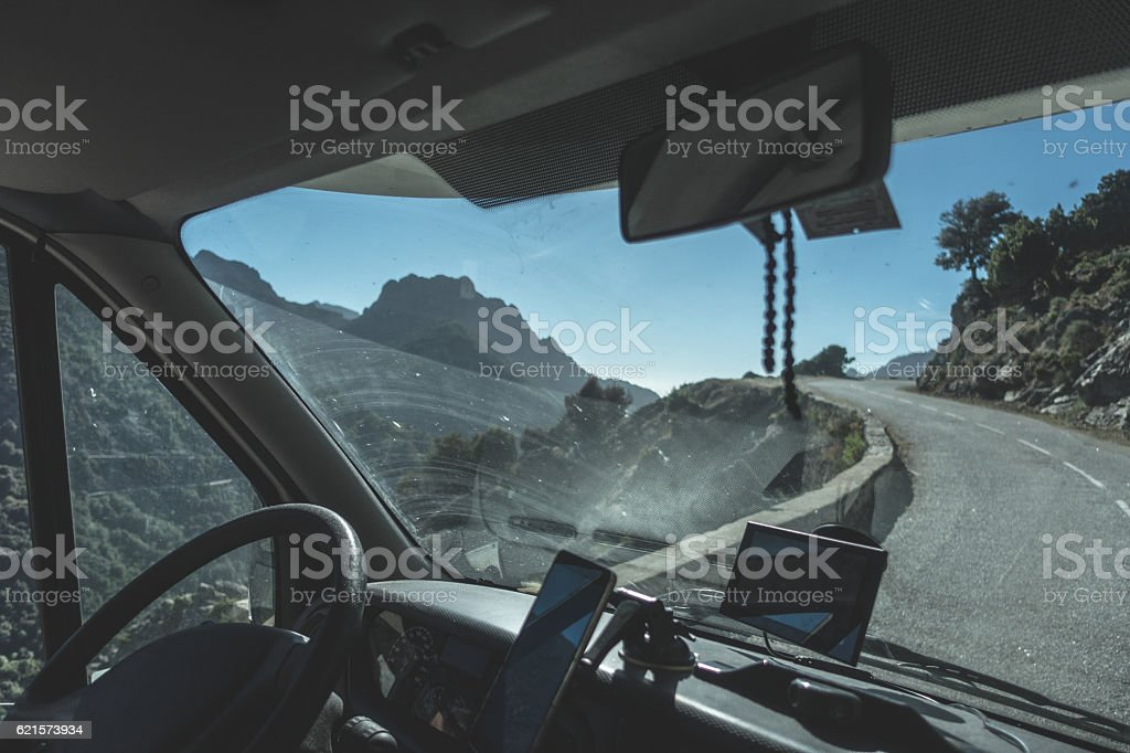 La Corse vue photo libre de droits