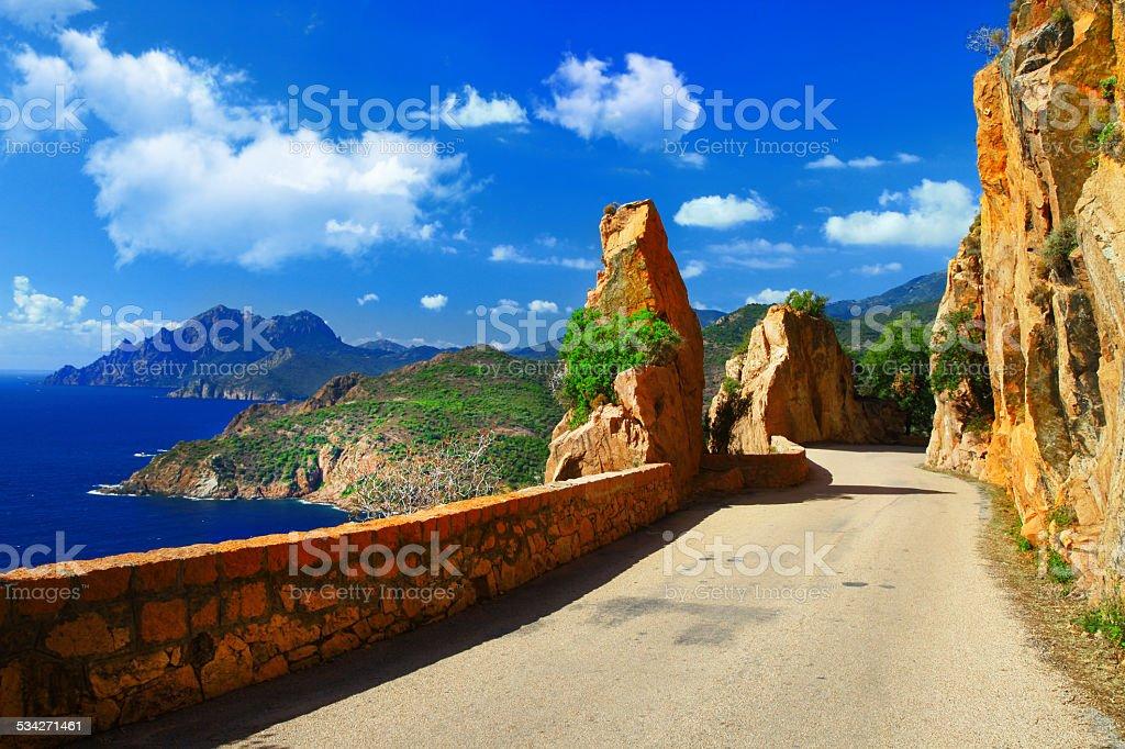 Corsica,France. stock photo