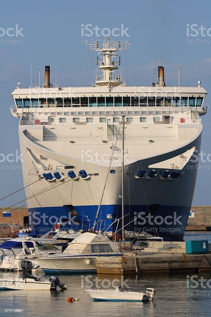 Corsican ferry stock photo