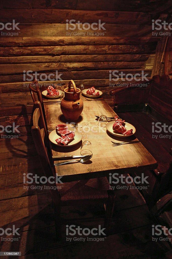corsican restaurant 3 royalty-free stock photo