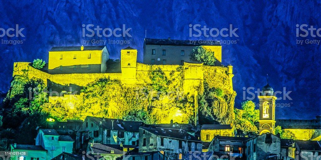 Korte Korsika bei Nacht – Foto