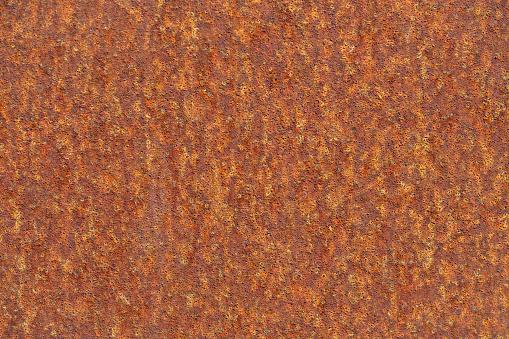 Corten steel or weathering steel textured surface.