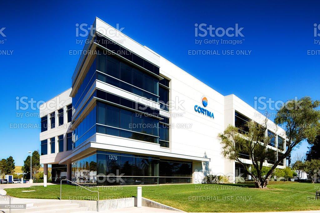 Cortina Systems headquarters in Sunnyvale California stock photo