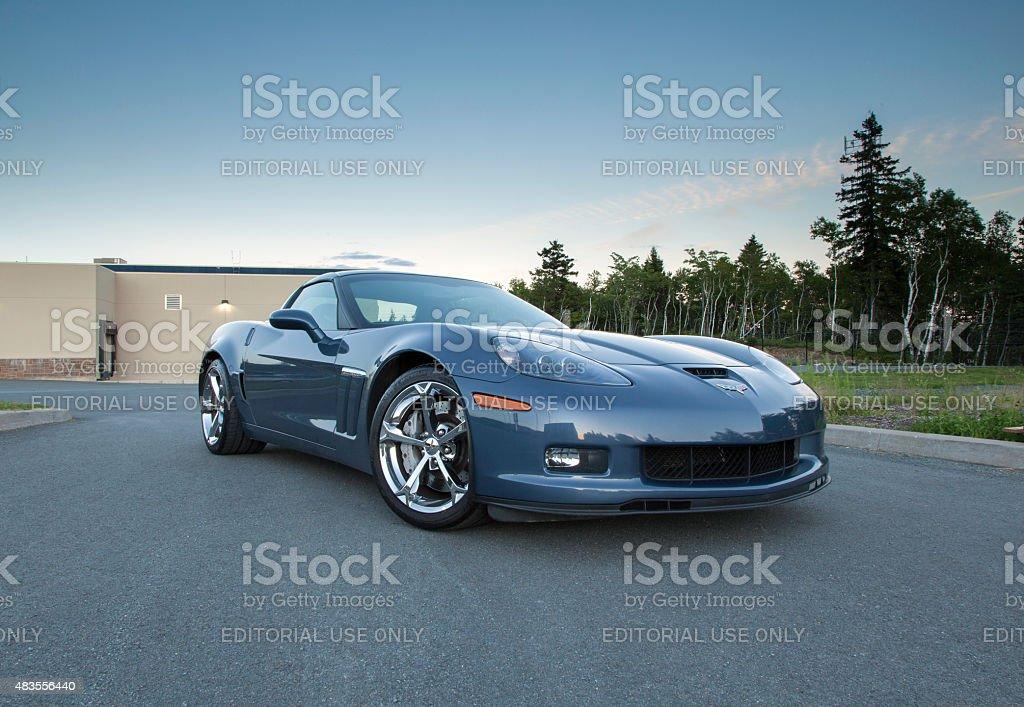 Corvette C6 Grand Sport stock photo