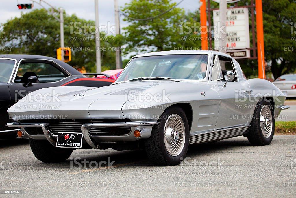 Corvette Stingray stock photo