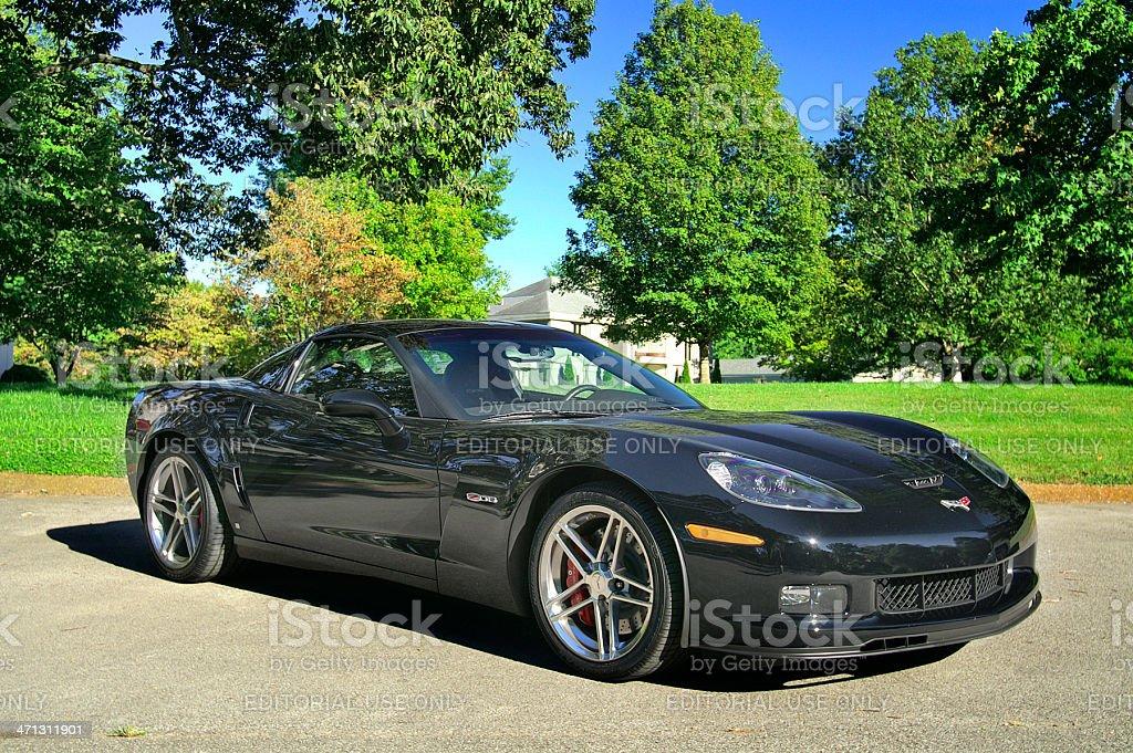 Corvette Z06 royalty-free stock photo