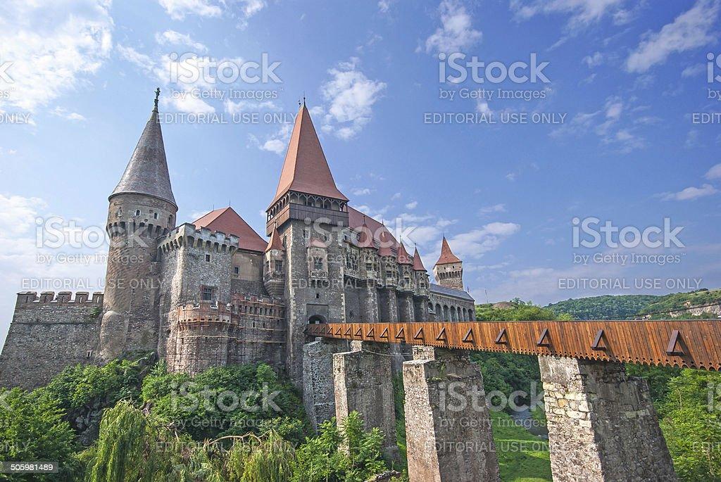 Corvin castle royalty-free stock photo