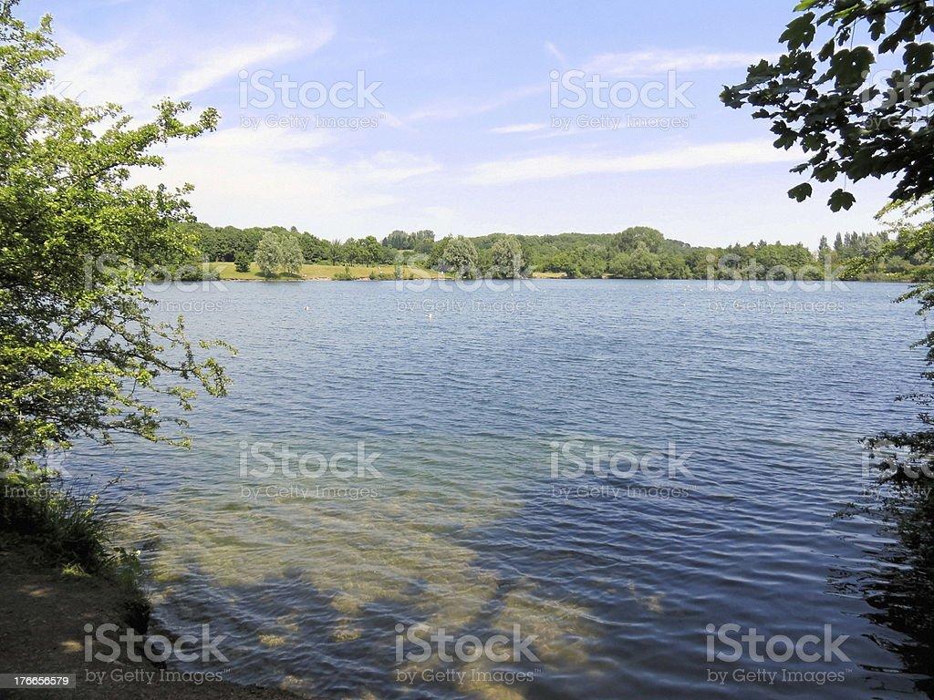 Cosmeston Lakes royalty-free stock photo