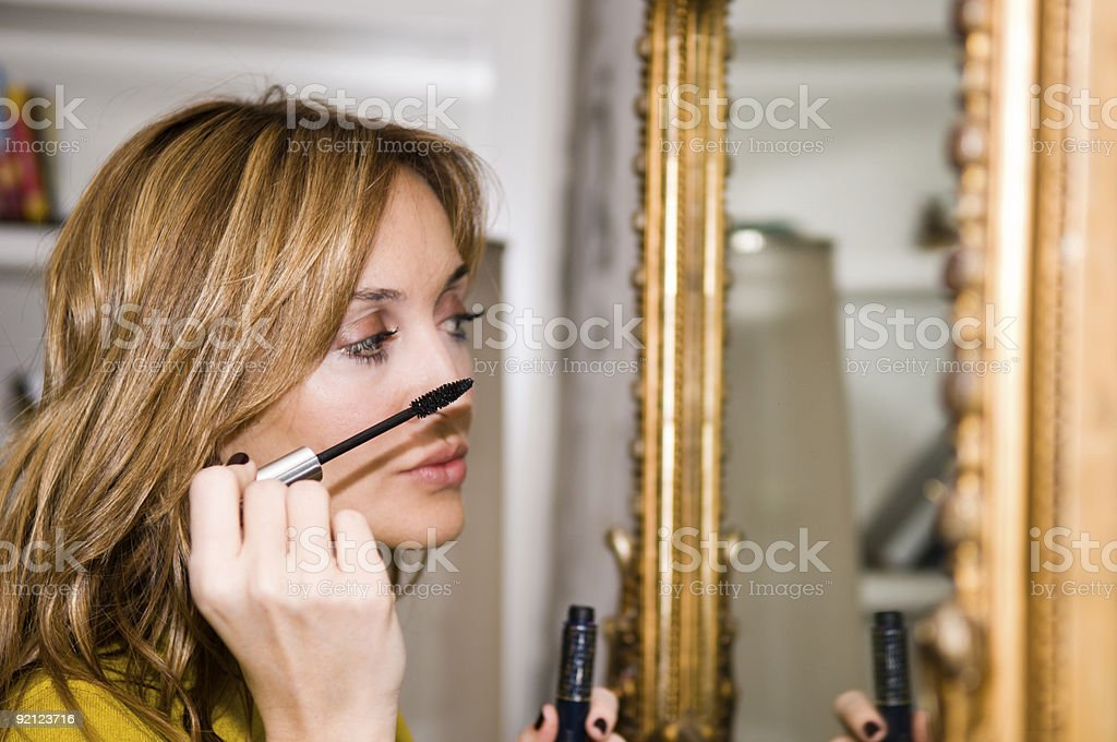 Cosmetic applicator royalty-free stock photo