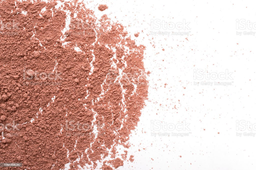 Cosmetic background, minerl clay texture. Mask dry clay for facecare...