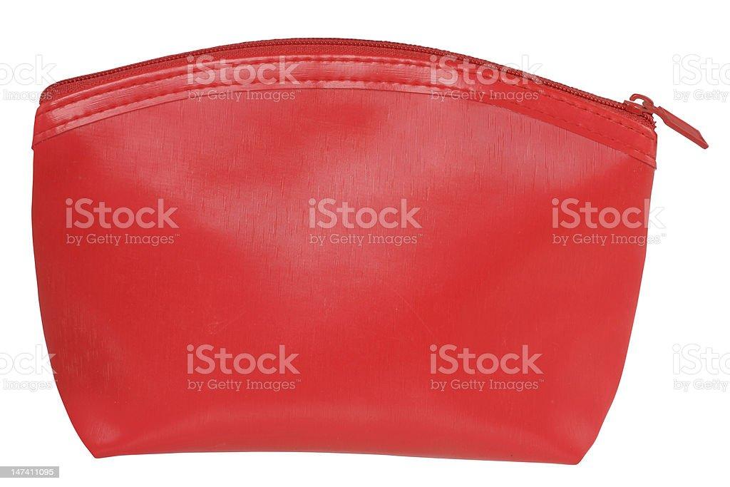 Cosmetic bag. stock photo