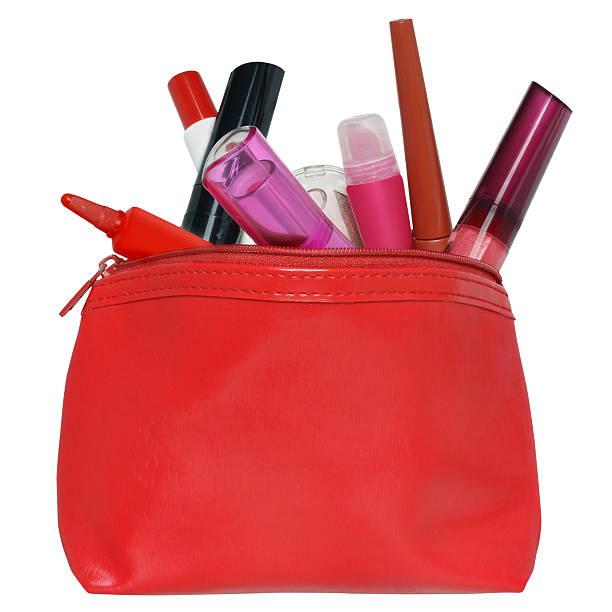 Porta cosmetici. - foto stock