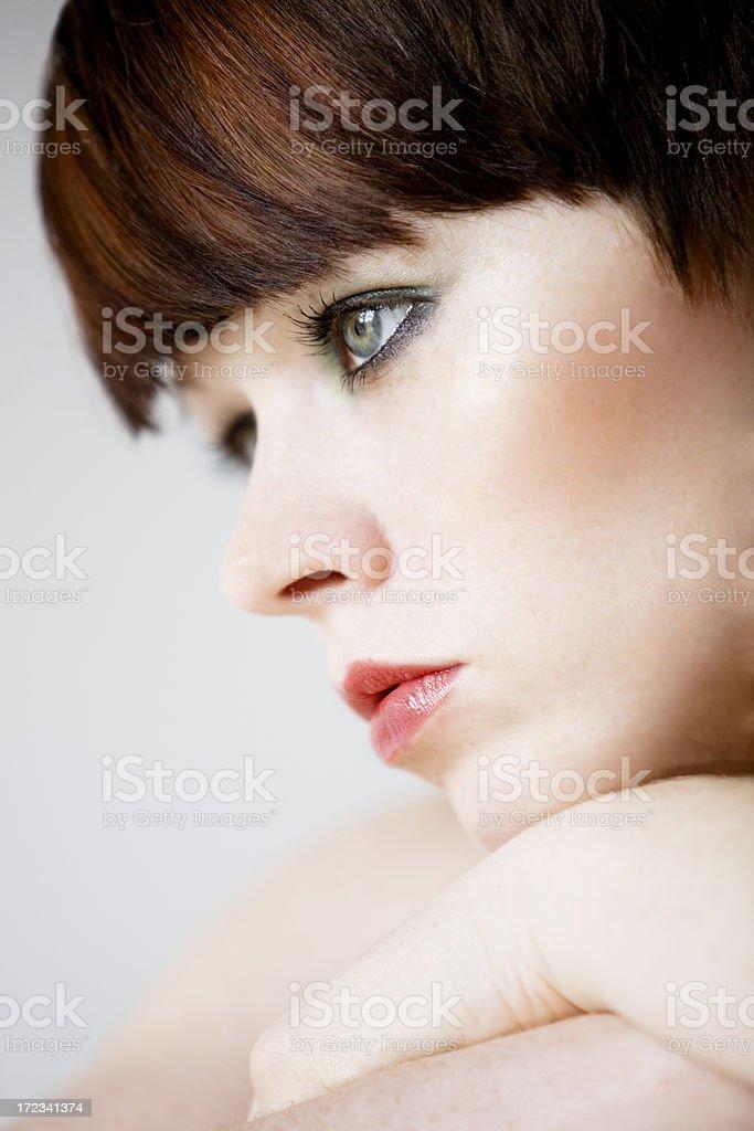 Cosmetic beauty royalty-free stock photo